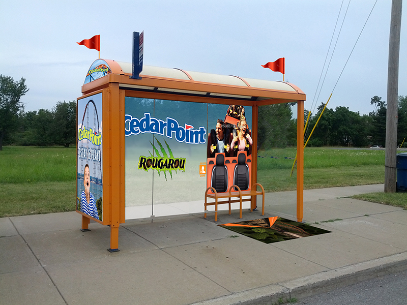 Cedar Point Bus Shelter View 2 Web
