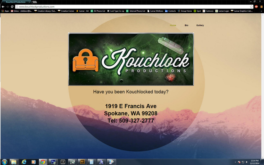Kouchlockwebsite